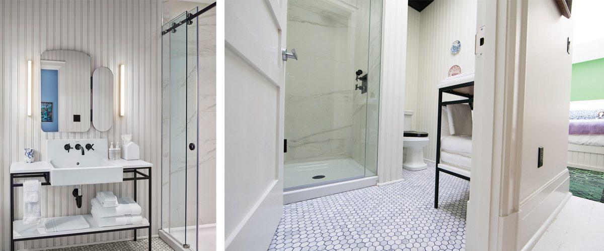 Surprising Timeless Bathrooms And Lavish Showers Make For Happy Hotel Interior Design Ideas Helimdqseriescom