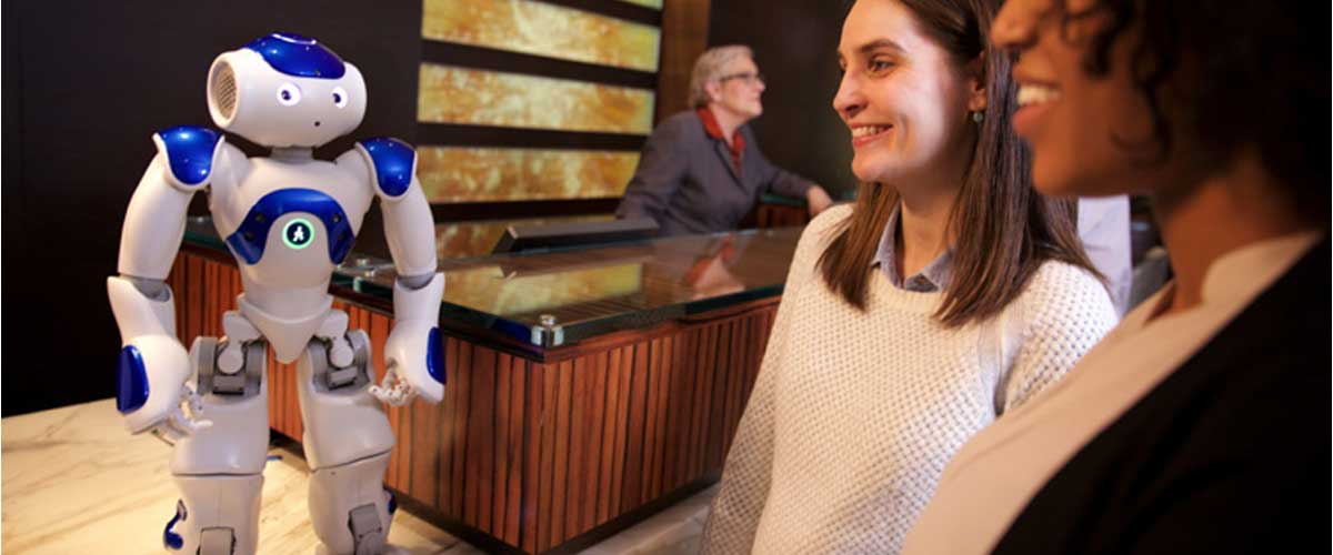 Artificial Intelligence Replacing Some Hotel Staff Members