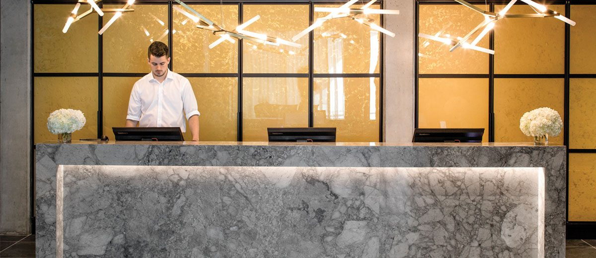hotel lobby design is key to making a good impression