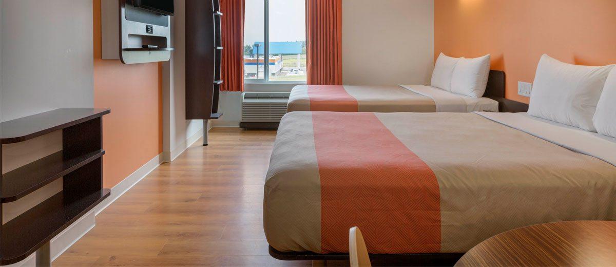Now open motel 6 kerrobert hotelier magazine for Design hotel 6