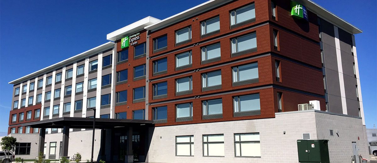 Ihg opens holiday inn express suites in gatineau quebec for Hotel design ottawa