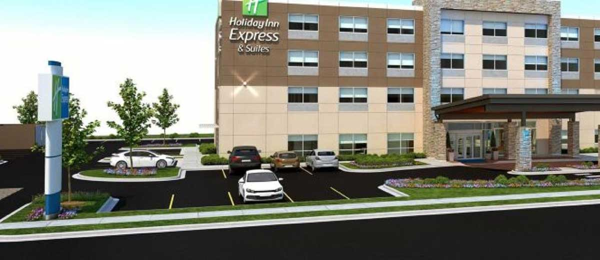 Hotels Group Has Reached 100 Open Holiday Inn Express In Canada With The Opening Of Suites Trois Rivières Quebec