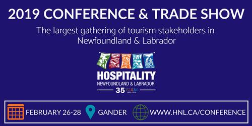 Hospitality Newfoundland and Labrador Conference & Trade